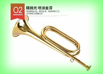 Quality Chinese Military musical instrument trumpet Blowing Bugle Craftsmanship