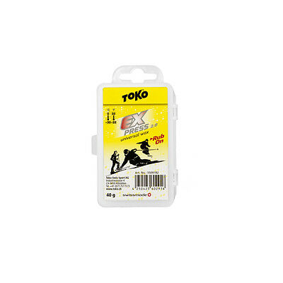 Toko Express Rub On ski snowboard wax 40g universal rub-on
