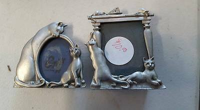 cat frames lot of 2 small frames
