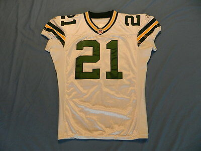 Bhawoh Jue 2004 Green Bay Packers game used jersey Reebok size 48 shortened