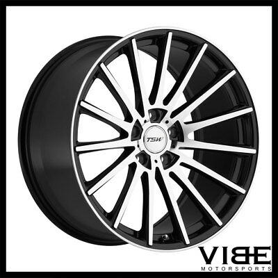 19 Xo Verona Black Concave Wheels Rims Fits Honda Accord Sedan