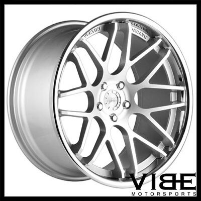 20 Vertini Magic Black 20x8 5 Wheels For Mercedes W211 E320 E350