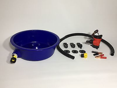 BLUE BOWL PAN GOLD Prospecting CONCENTRATOR WITH LEG LEVELERS AUSSIE SUPPLIER!