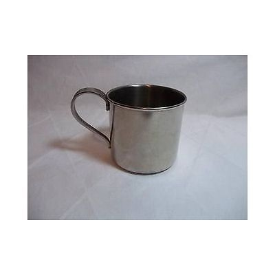 Vintage INTERNATIONAL STAINLESS CHILDS CUP mug No Monogram 0024