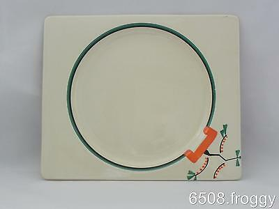 "Early *Biarritz* signed  CLARICE CLIFF - Handpainted  ""RAVEL"" Plate"