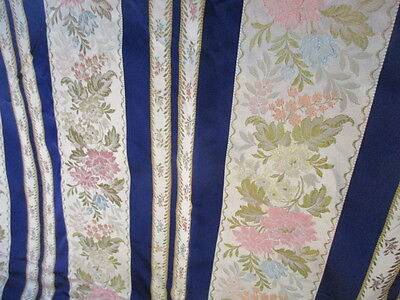 Huge Panel Vintage French Fabric Brocade Silk 229cm wide
