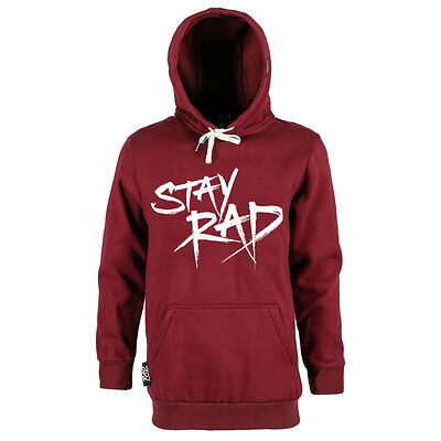 Rad The Stay Rad Hoodie Tall Snowboard Hoody S L Mens