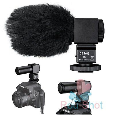 TAKSTAR SGC-698 PStereo hotography Interview MIC Microphone For Camera DV【AU】