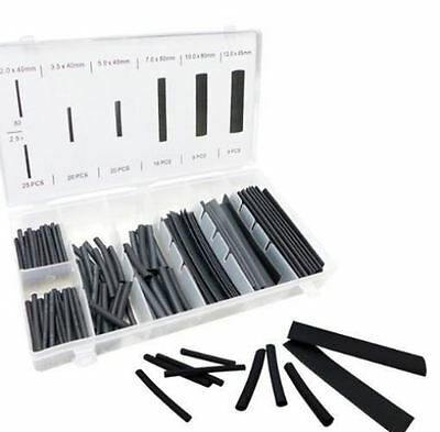 Neiko Heat Shrink Wire Wrap Sleeve Cable Tubing Set Assorted Sizes, 127 Pieces