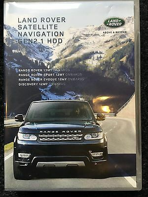 New Land Range Rover USB 2017 Europe Maps Gen 2.1 InControl Touch Plus SAT NAV