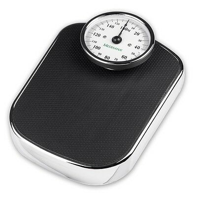 Medisana Bathroom Scales Weight Body Analysis PS 412 180 kg Retro Black 40426