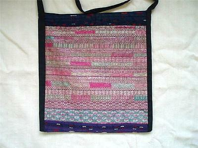 Miao/hmong China Embroidered Handwoven Shoulder Bag
