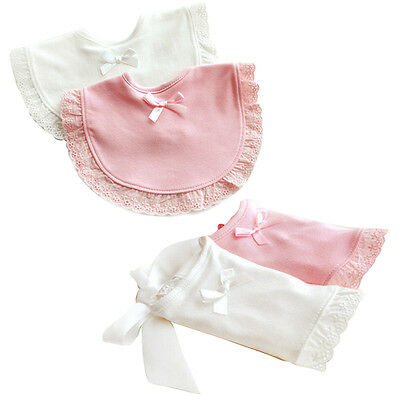 Newborn Toddler Cotton Baby Bibs Boy Girl Saliva Towel Kids Bib Feeding FOUK
