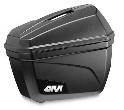 GIVI E22N SIDE CASE x 2 HARDBAGS PANNIERS ( E22 PAIR ) Monokey Cases Black new