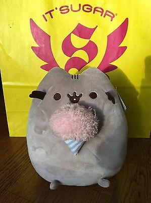 BNWT Rare Pusheen Cat Cotton Candy Candy Floss IT SUGAR Exclusive! US! New Plush