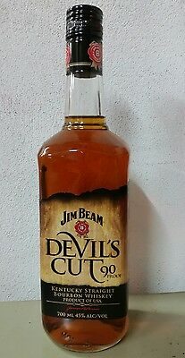 Jim Beam Devils Cut 700ml *discontinued bottle & label*Sealed*