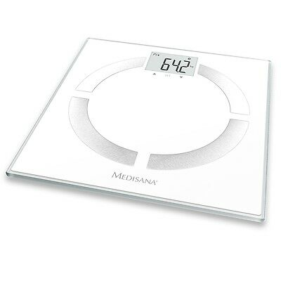 Medisana Electronic Digital LCD Body Analysis Scales 180kg Bathroom BS 444 40444