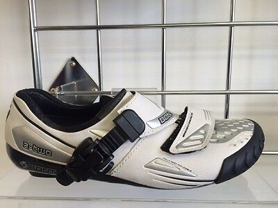 Bont A-Two Clip-In Road Shoes - White - Size 38 RRP £175