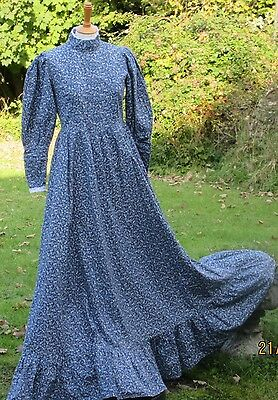 Vintage Laura Ashley Prairie, Boho, Maxi Dress. Excellent Condition. Size 12.