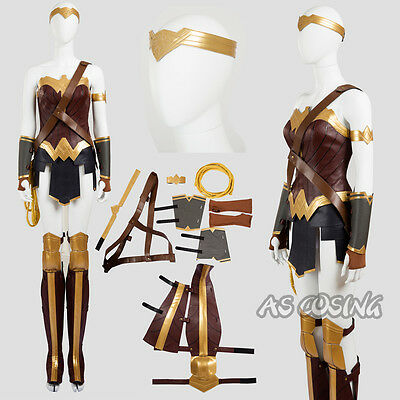 Wonder Woman Diana Prince Cosplay Costume Halloween Cosplay Costume All Size