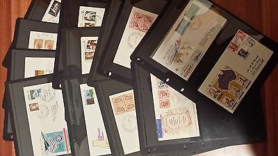 1970 - 76 Australian First Day Cover Collection - 22 Covers