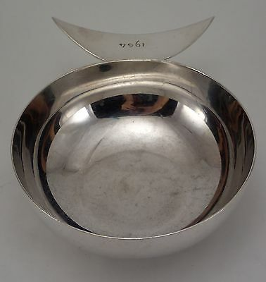 Christofle Lino Sabattini Finger Bowl Fish Shape Silverplated E Rince Doigts