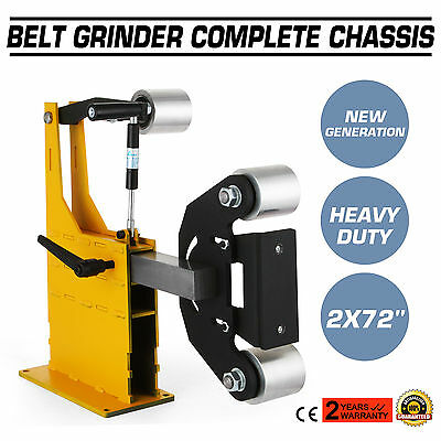 "2x72"" Belt Grinder Knife Making Complete Chassis Axe Professional Industrial"