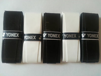 3x YONEX Super Grap Overgrip - BLACK & WHITE - Overgrips over grip - Tennis