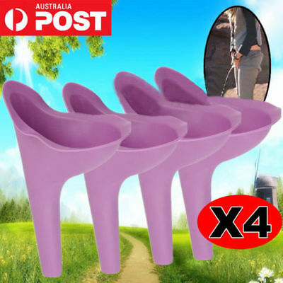 Portable Female She Woman Lady Urinal Camping Travel Urine Wee Funnel Toilet