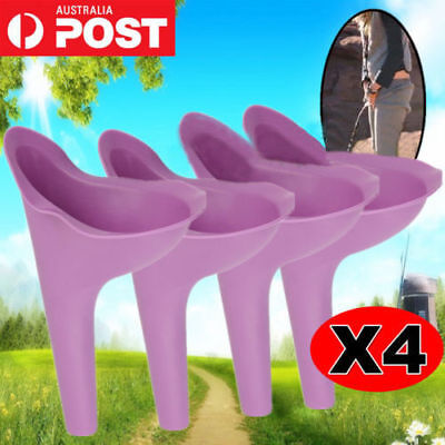Women Urinal Outdoor Travel Camping Portable Female Woman She Wee Funnel