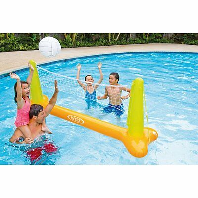 Floating Volleyball Swimming Pool Game Inflatable Family Water Fun Intex Toys