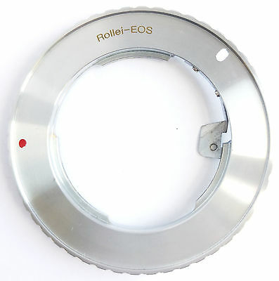 Canon EOS To ROLLEI QBM Lens Mount Ring Adapter