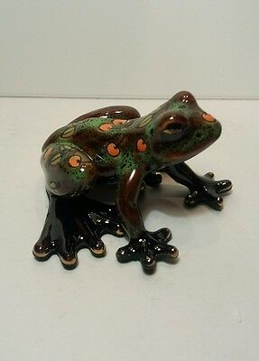 Old Tupton Ware - Ceramic Jungle Frog (spotted)