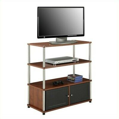 Convenience Concepts Designs2go 34 3 Tier Highboy Tv Stand In