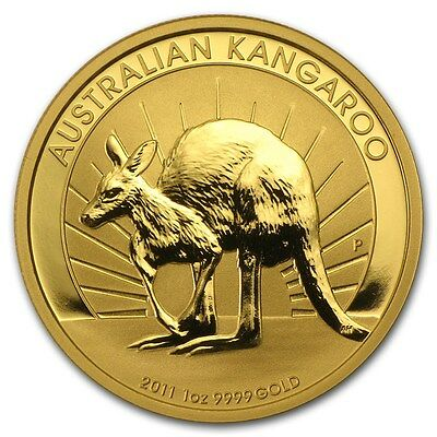 1 oz 2011 Kangaroo Perth Mint Gold Bullion Coin (Mint Condition)