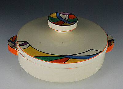 Clarice Cliff Comets Tureen.