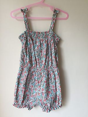 NEXT girls 3-4 years pretty floral shorts playsuit