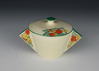 Clarice Cliff Stamford Twin Handled Bowl.