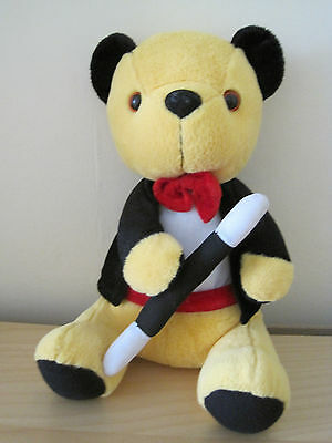 """Sooty Magician 11"""" seated Soft Toy VGC"""
