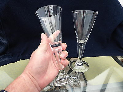 "Dartington Crystal ""SHARON"" Wine / Prosecco Glass - (8.5/8"") tall. Con Stunning."