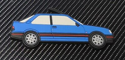 Peugeot 309 Gti fridge magnets , Miami Blue Gti 16