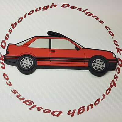 Peugeot 309 Gti fridge magnets , Cherry Red