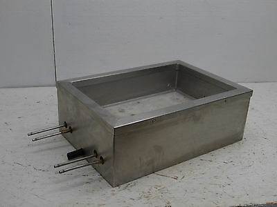 2 Circuit Line Cold Plate stainless steel ice bin chest 17x12x6