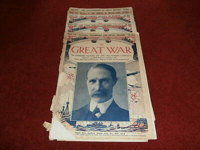 The Great War Magazines (1917), Pts  134, 145, 146, 149, 156