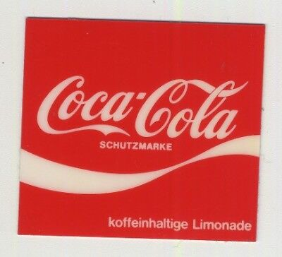 Vintage Coca Cola Decal / Sticker For Vending Machine (Germany 1970s/1980s)