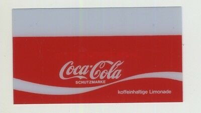 Vintage Coca Cola Decal For Vending Machine 4.5 x 8 CM (Germany 1970s/1980s)