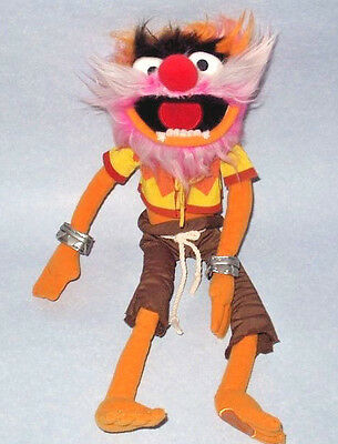 """Jim Henson's The Muppet Show 16"""" Animal - Disney Store Exclusive Plush Soft Toy"""