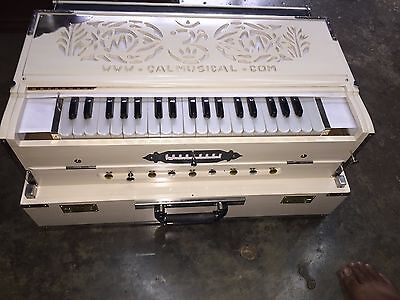 New Professional Portable Harmonium Scale Changer 3 Reeds Pre-Insured Expedited