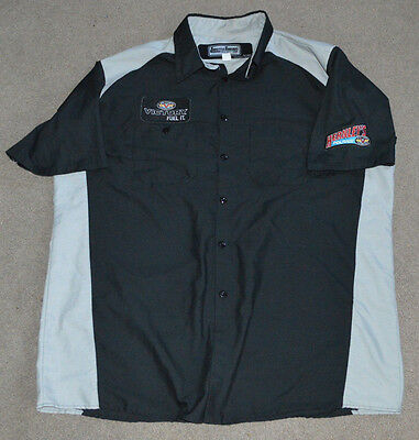 Victory Motorcycles Throttle Threads S/S Shirt XL Patches Hernley's Polaris PA