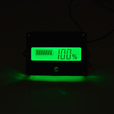 Lead-acid Lithium-ion Battery Capacity Tester Indicator Meter LCD Monitor BI663